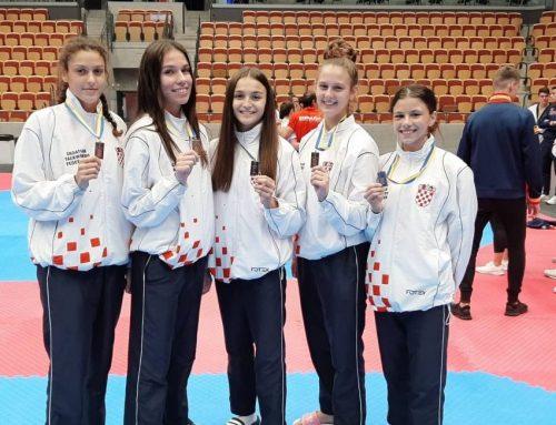 OSAM MEDALJA U ČETIRI DANA Naše judašice i taekwondoašice nižu uspjehe na europskim prvenstvima