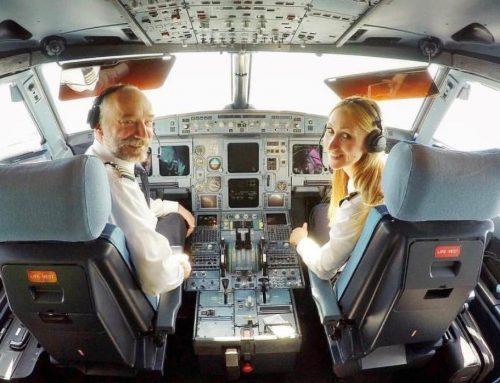 ŽENSKE PILOTSKE SNAGE Veseli nas kada djevojčica nakon leta kaže da i ona želi biti pilotkinja i da smo joj uzor
