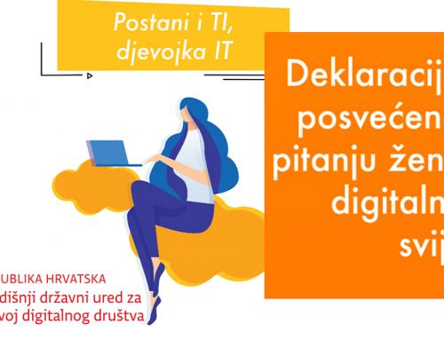 Žene u Hrvatskoj čine tek 14 posto zaposlenih u IKT sektoru – obvezali smo se na jačanje ravnopravnosti spolova u ovom području