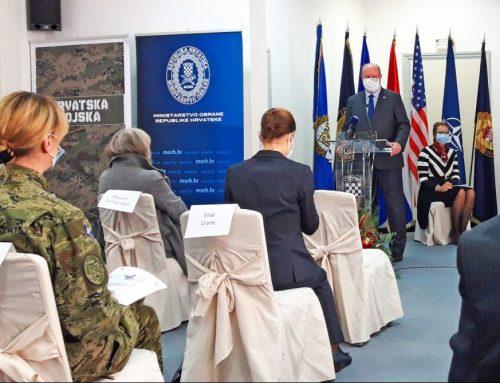 Pokrenut projekt osnaživanja žena i pružanja podrške u vojnim snagama i mirovnim misijama RH