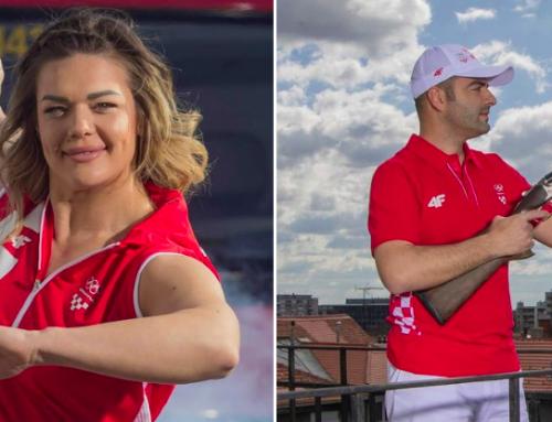 Prvi put u povijesti stjegonoše na otvaranju OI će biti olimpijka i olimpijac u paru – Sandra Perković i Josip Glasnović