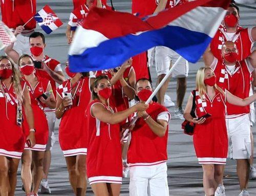 Sandra Perković prva je žena nositeljica hrvatske zastave na otvorenju prvih rodno uravnoteženih Olimpijskih igara u povijesti